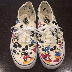 New Mickey Mouse Vans women's 9